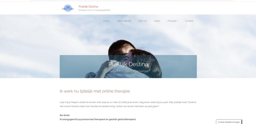 Destina website